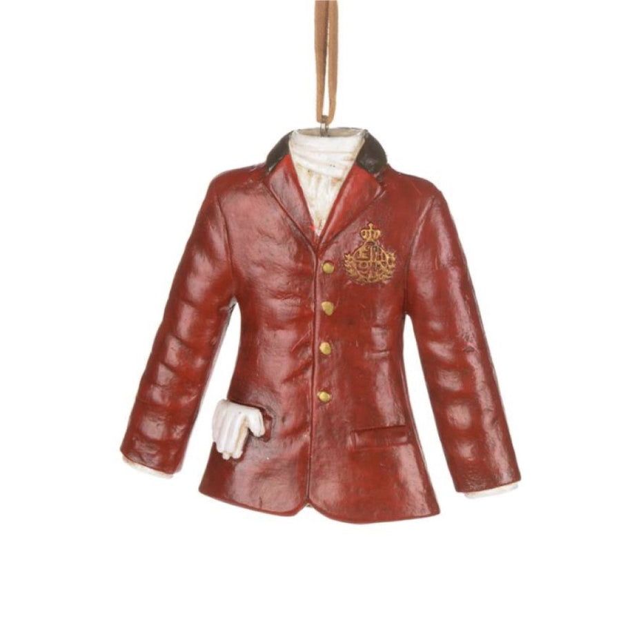 Red Riding Jacket with Crest -  Christmas - CT-Christmas Traditions - Putti Fine Furnishings Toronto Canada