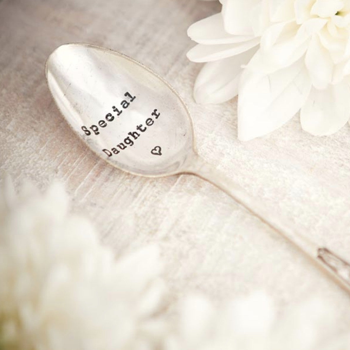 """Special Daughter"" Vintage Tea Spoon"