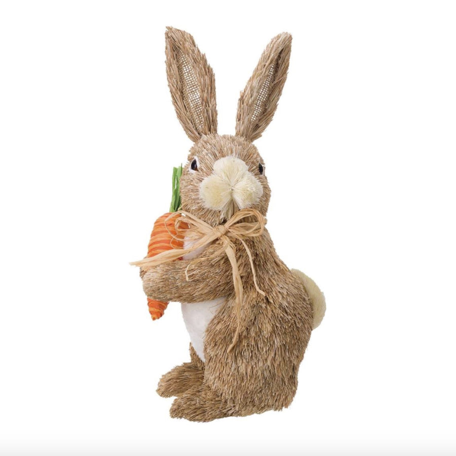 Standing Sisal Rabbit - Medium