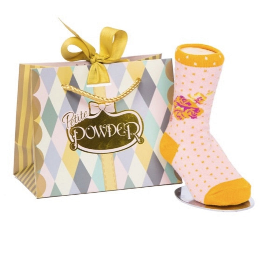 Powder Uk Baby Sock - Rosebud, PDL-Powder Design Limited, Putti Fine Furnishings
