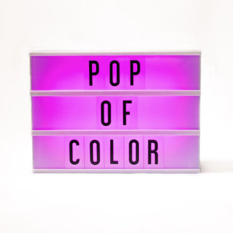 My Cinema Light Box - Original Color Changing-Accessories-A&C-Amped & Co.-Putti Fine Furnishings