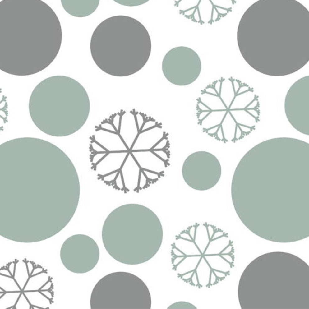 "Elise ""Solstice Snow"" Paper Beverage Napkin, CC-Creative Converting, Putti Fine Furnishings"