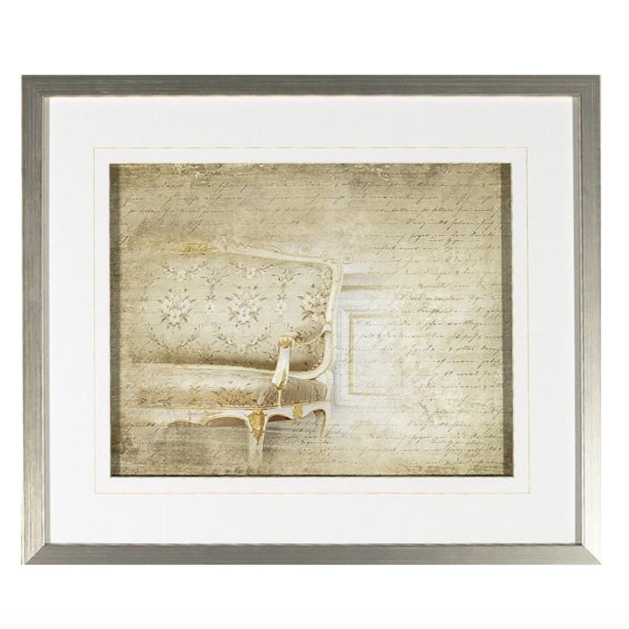 """Letters From Versailles V"" Framed Print"