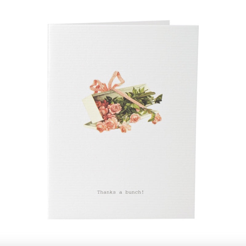 "Tokyo Milk ""Thanks a Bunch"" Roses Card, TM-Tokyo Milk, Putti Fine Furnishings"