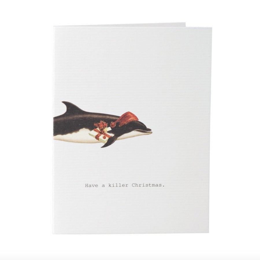 "Tokyo Milk ""Have a Killer Christmas"" Greeting Card, TM-Tokyo Milk, Putti Fine Furnishings"