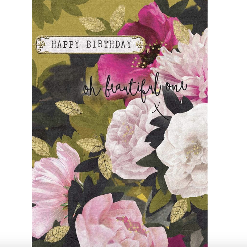 """Happy Birthday Oh Beautiful One"" Greeting Card, JE-Jannex Enterprises, Putti Fine Furnishings"