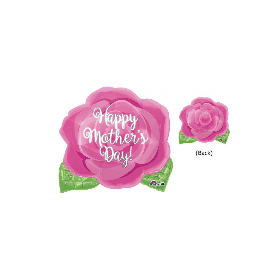 """Happy Mother's Day"" Pink Rose Balloon, SE-Surprize Enterprize, Putti Fine Furnishings"