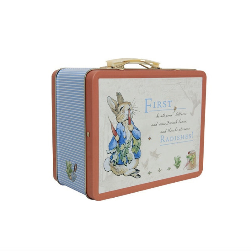 Peter Rabbit Tin Lunch Box, JLB-J L Bradshaws, Putti Fine Furnishings