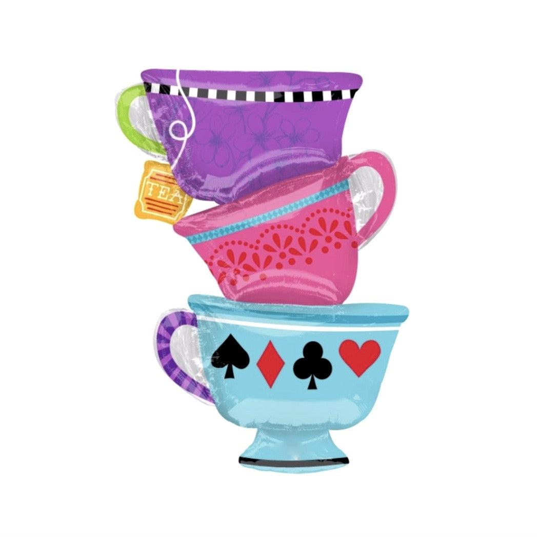 Mad Tea Party Balloon, SE-Surprize Enterprize, Putti Fine Furnishings