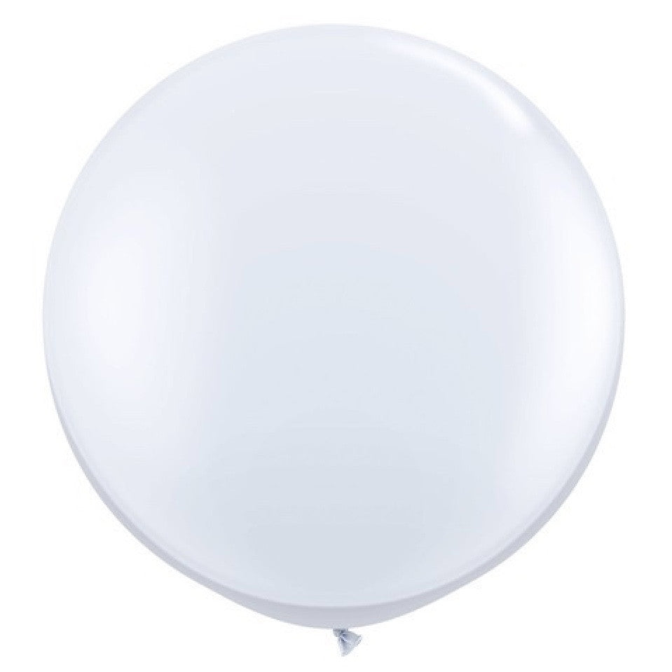 "Giant Round Balloon 36""- White, SE-Surprize Enterprize, Putti Fine Furnishings"