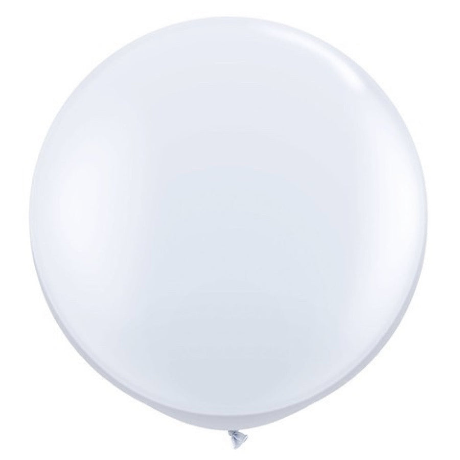 "Giant Round Balloon 36""- White"