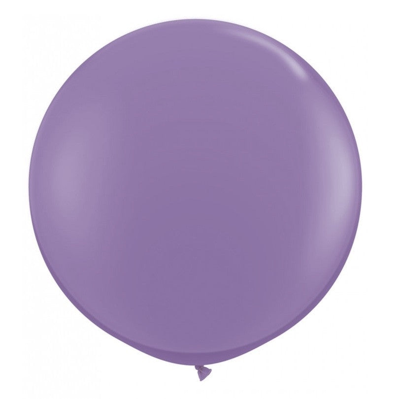 "Giant Round Balloon 36""- Spring Lilac, SE-Surprize Enterprize, Putti Fine Furnishings"