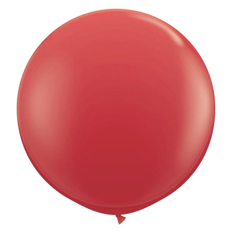 "Giant Round Balloon 36""- Red, SE-Surprize Enterprize, Putti Fine Furnishings"