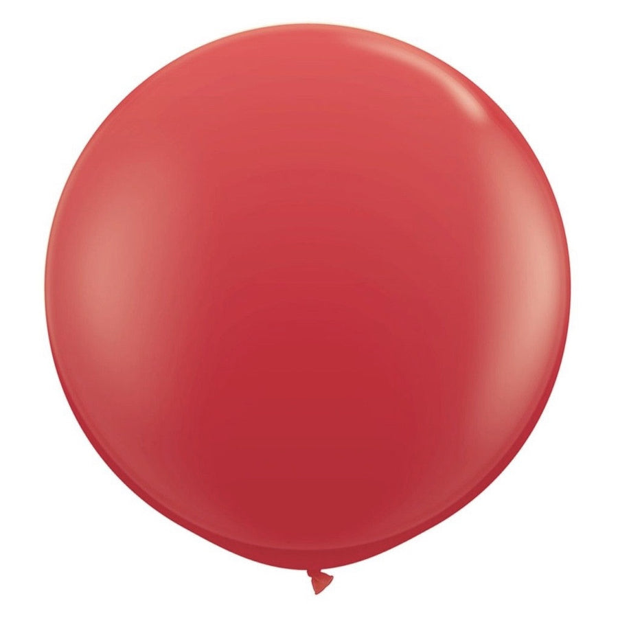"Giant Round Balloon 36""- Red"