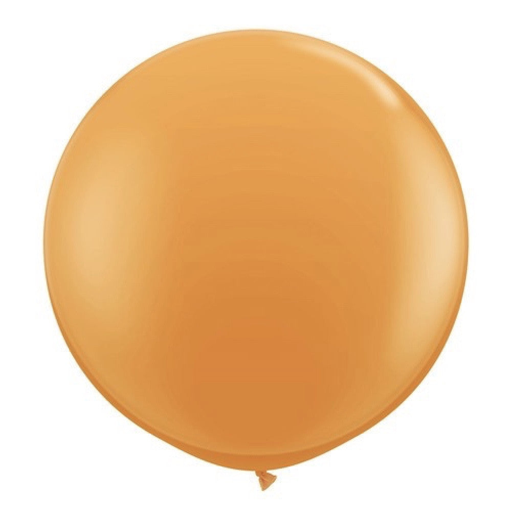 "Giant Round Balloon 36""- Orange, SE-Surprize Enterprize, Putti Fine Furnishings"