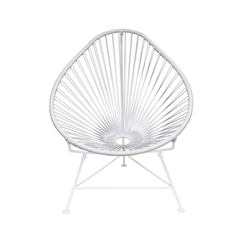 Acapulco Chair - White on White Frame, ID-Innit Design, Putti Fine Furnishings