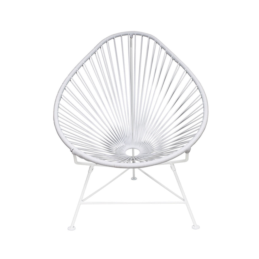 Acapulco Chair - White on White Frame