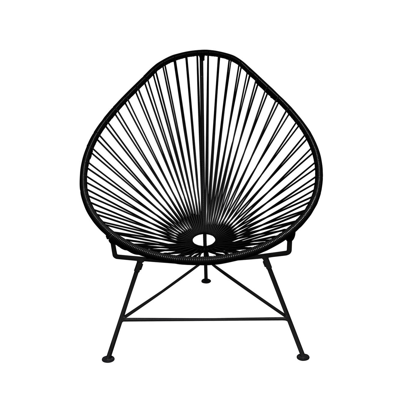 Acapulco Chair - Black on Black Fame