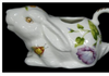 Floral Bunny Creamer, JLB-J L Bradshaws, Putti Fine Furnishings