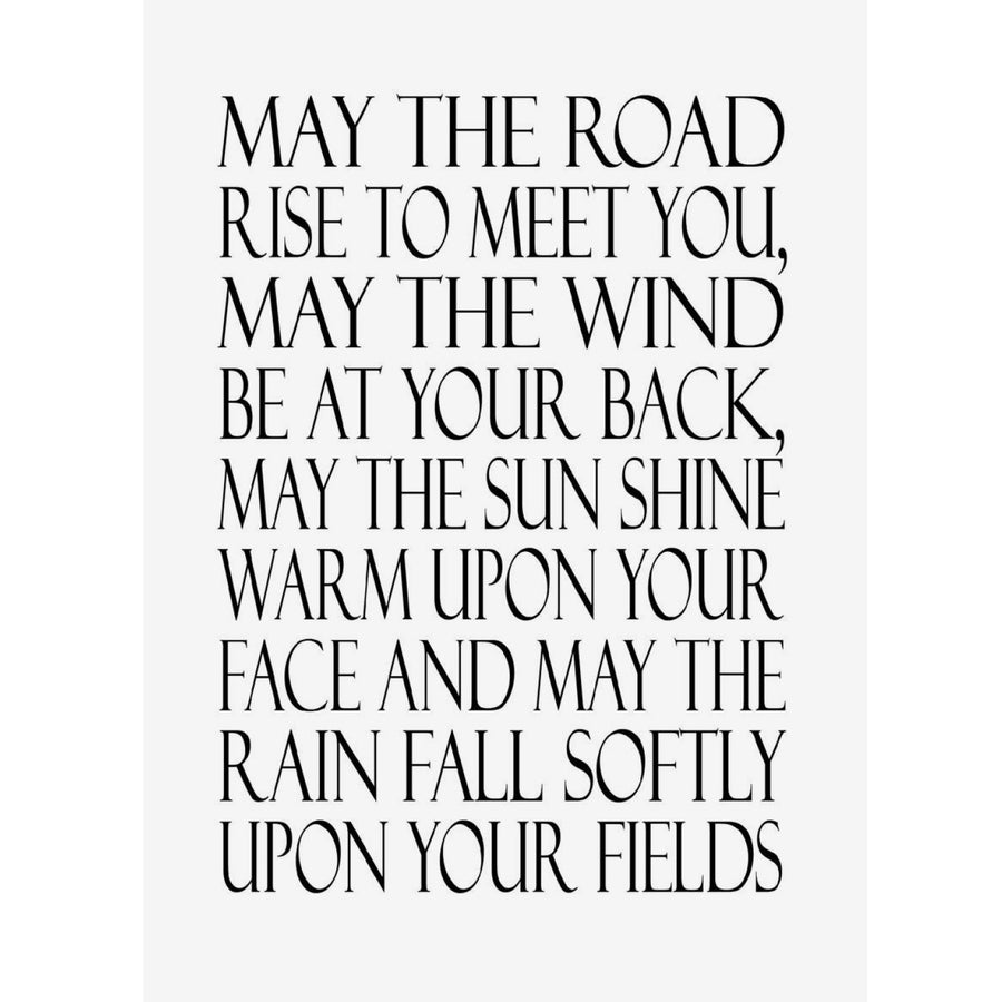 """May the road rise to meet you..."" Greeting Card"