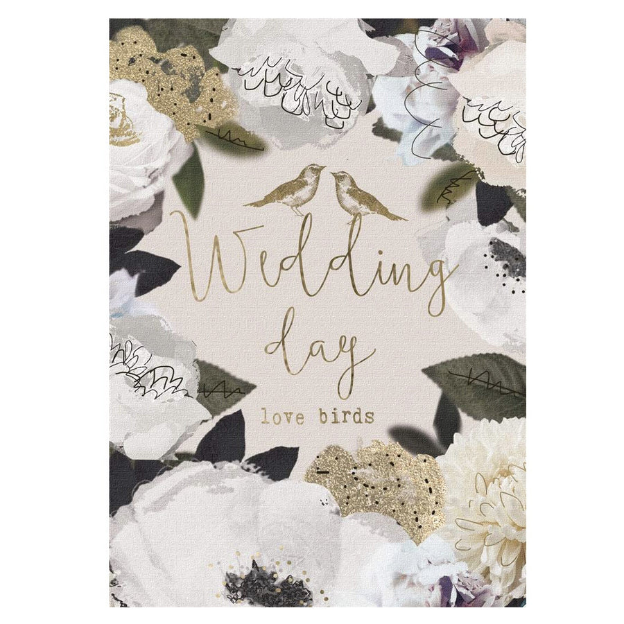 """Wedding Day"" Botanical Greeting Card"