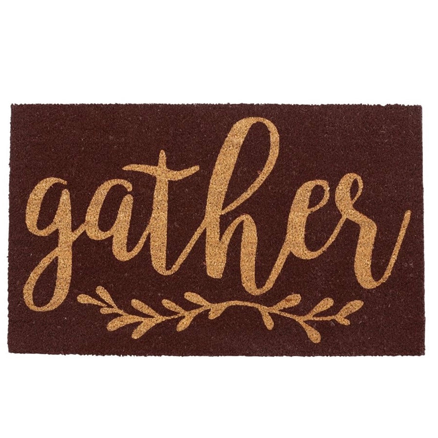 """Gather"" Doormat, MP-Mud Pie, Putti Fine Furnishings"