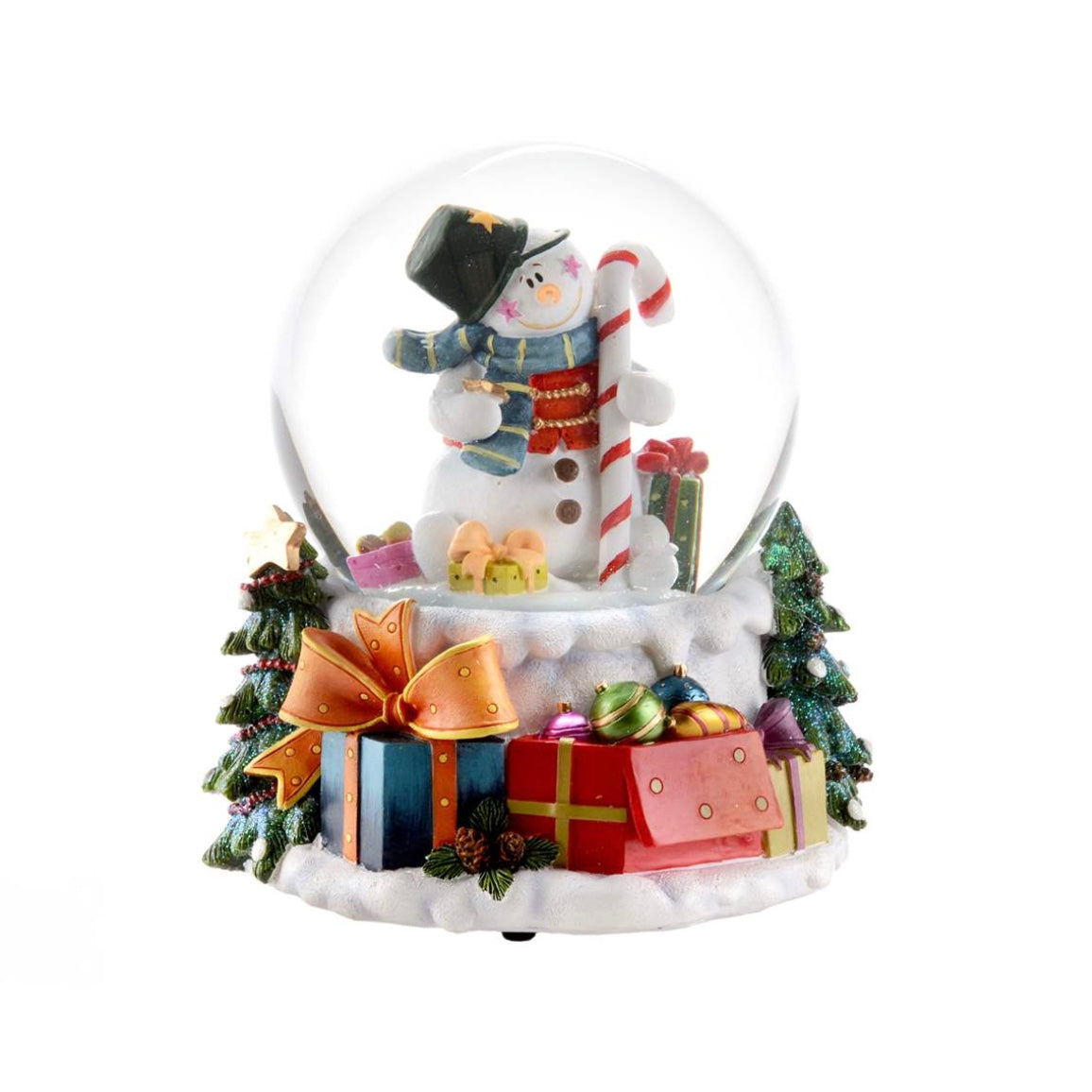 Snowman Snow Globe, CT-Christmas Tradition, Putti Fine Furnishings