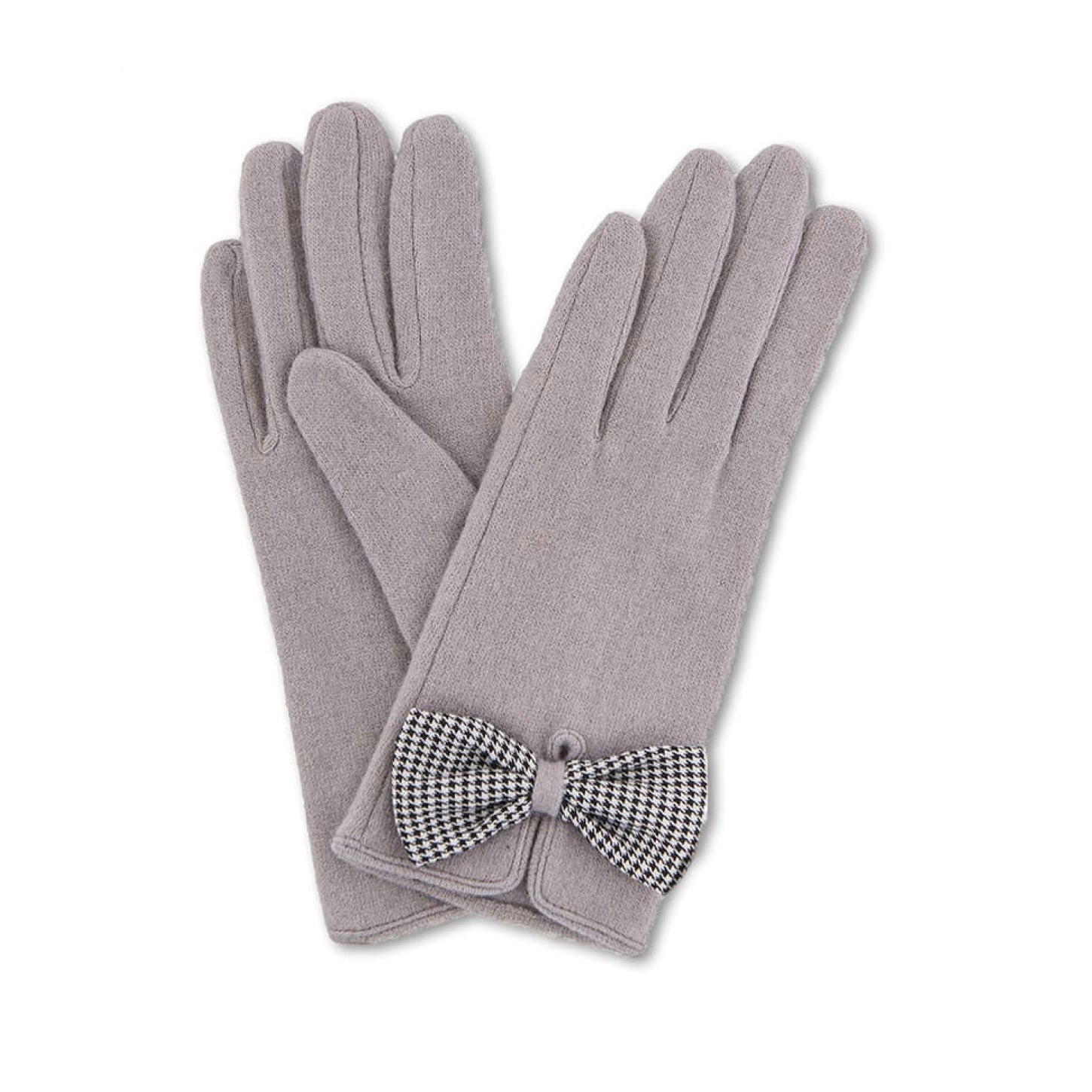"Powder ""Violet"" Wool Gloves - Slate, PDL-Powder Design Limited, Putti Fine Furnishings"