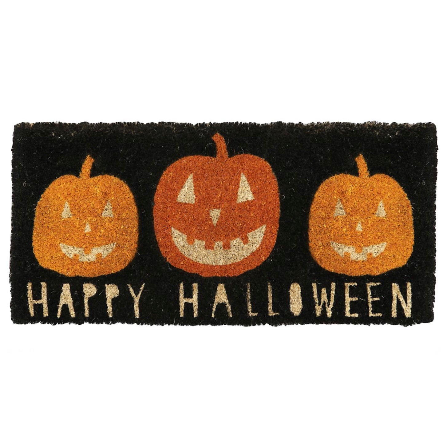 """Jack-o-Lantern"" Halloween Doormat, TAG-Design Home Associates, Putti Fine Furnishings"