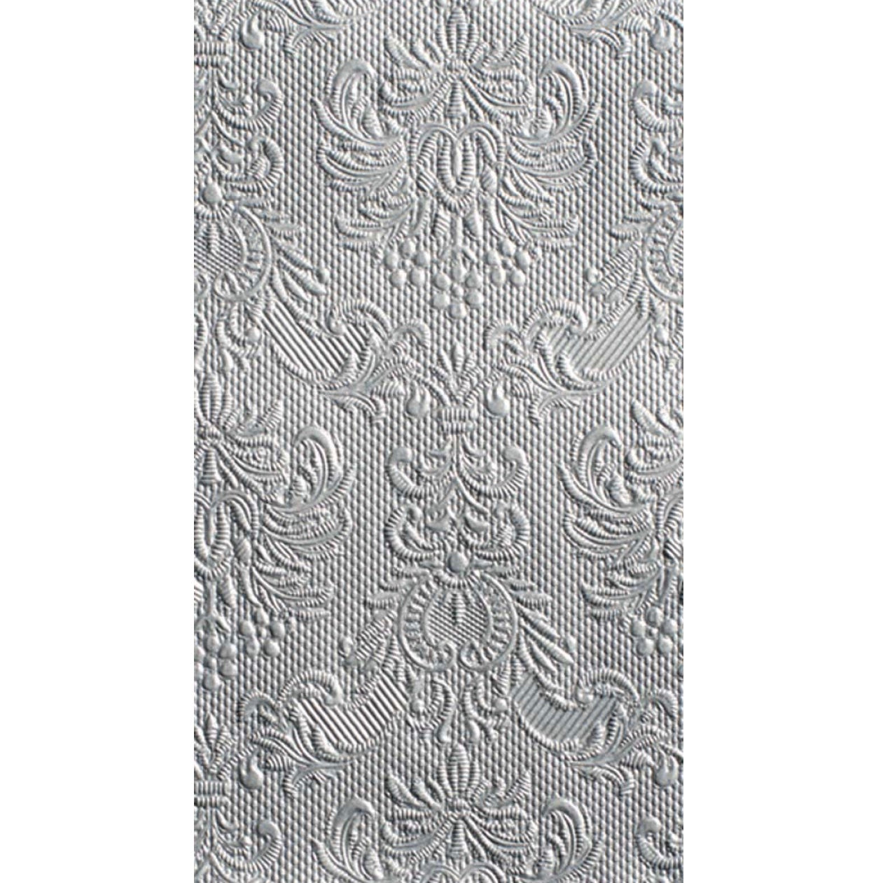 """Elegance"" Embossed Paper Guest Towel - Silver, EG-Elegant Gifts, Putti Fine Furnishings"