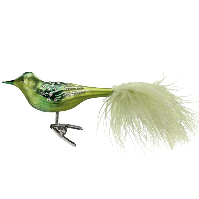 Inge Glass Green Glass Bird, IG-Inge Glass - OCD, Putti Fine Furnishings