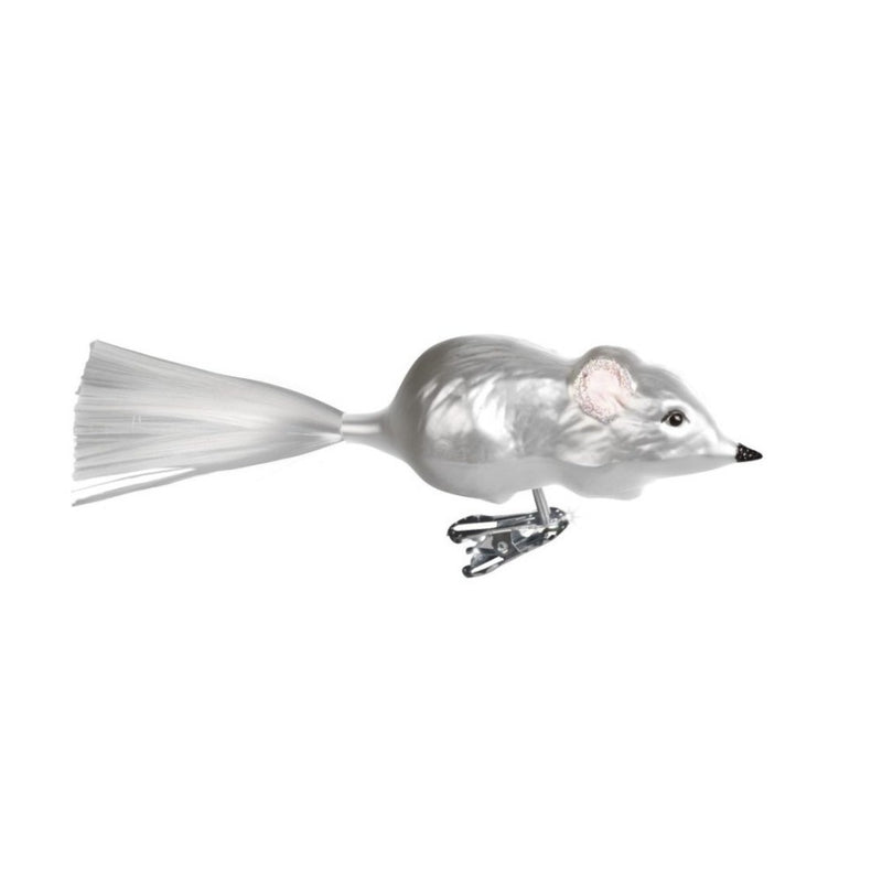 "Inge Glass ""Mouse"" Ornament, IG-Inge Glass - OCD, Putti Fine Furnishings"