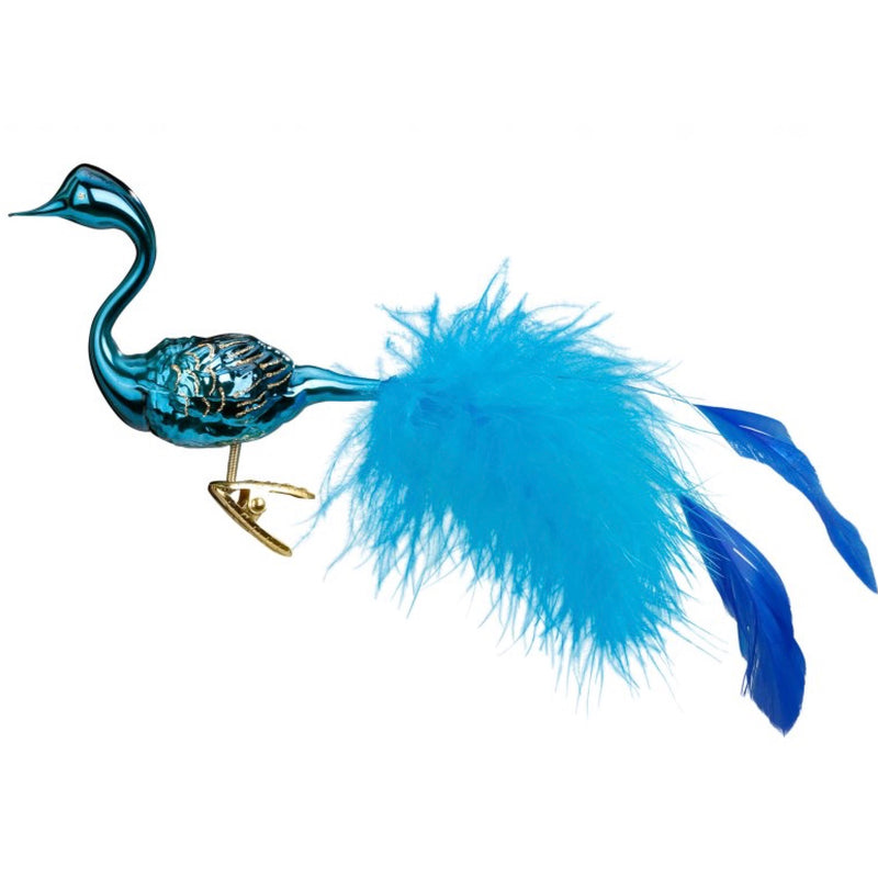 "Inge Glass ""Royal Swan"" Glass Bird"