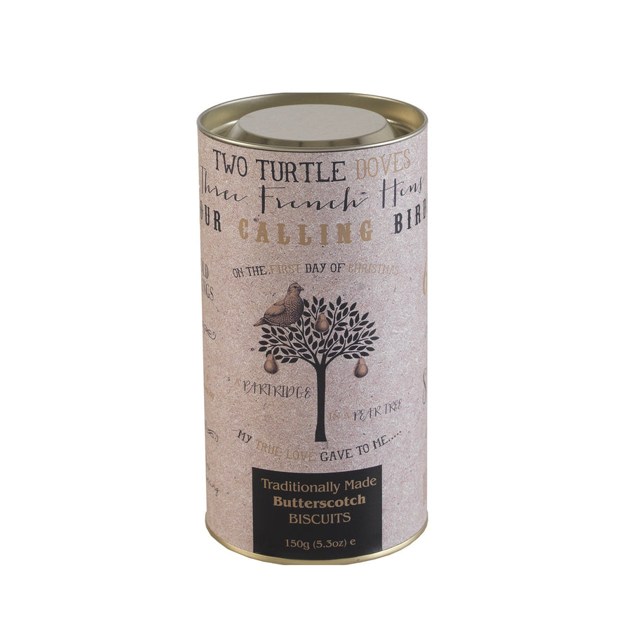 Farmhouse Biscuits - Partridge in a Pear Tree Gift Tube