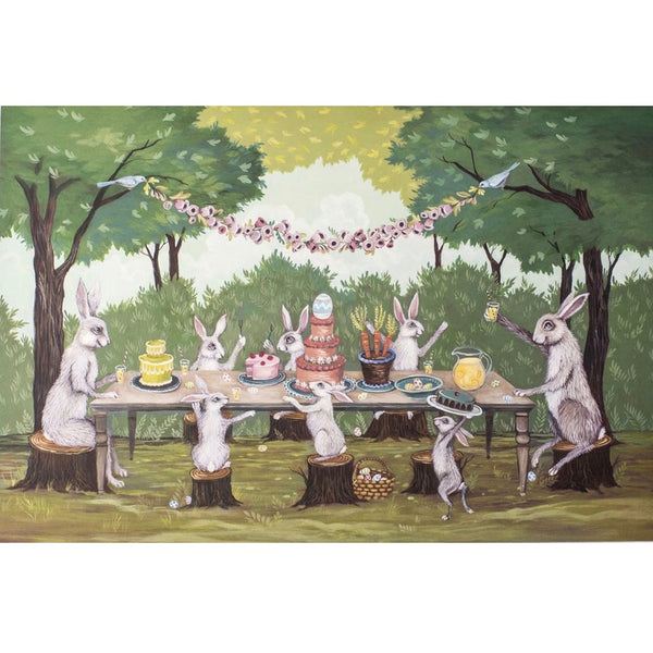 "Hester & Cook ""Spring Social"" Placemat, Kitchen Papers, Putti Fine Furnishings"
