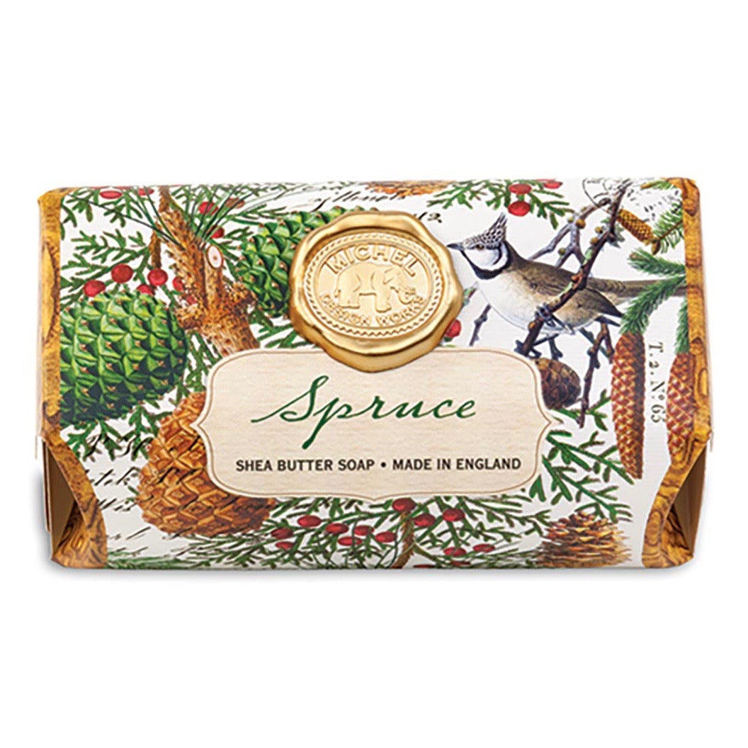 Michel Design Works - Spruce Large Soap Bar - Putti Fine Furnishings