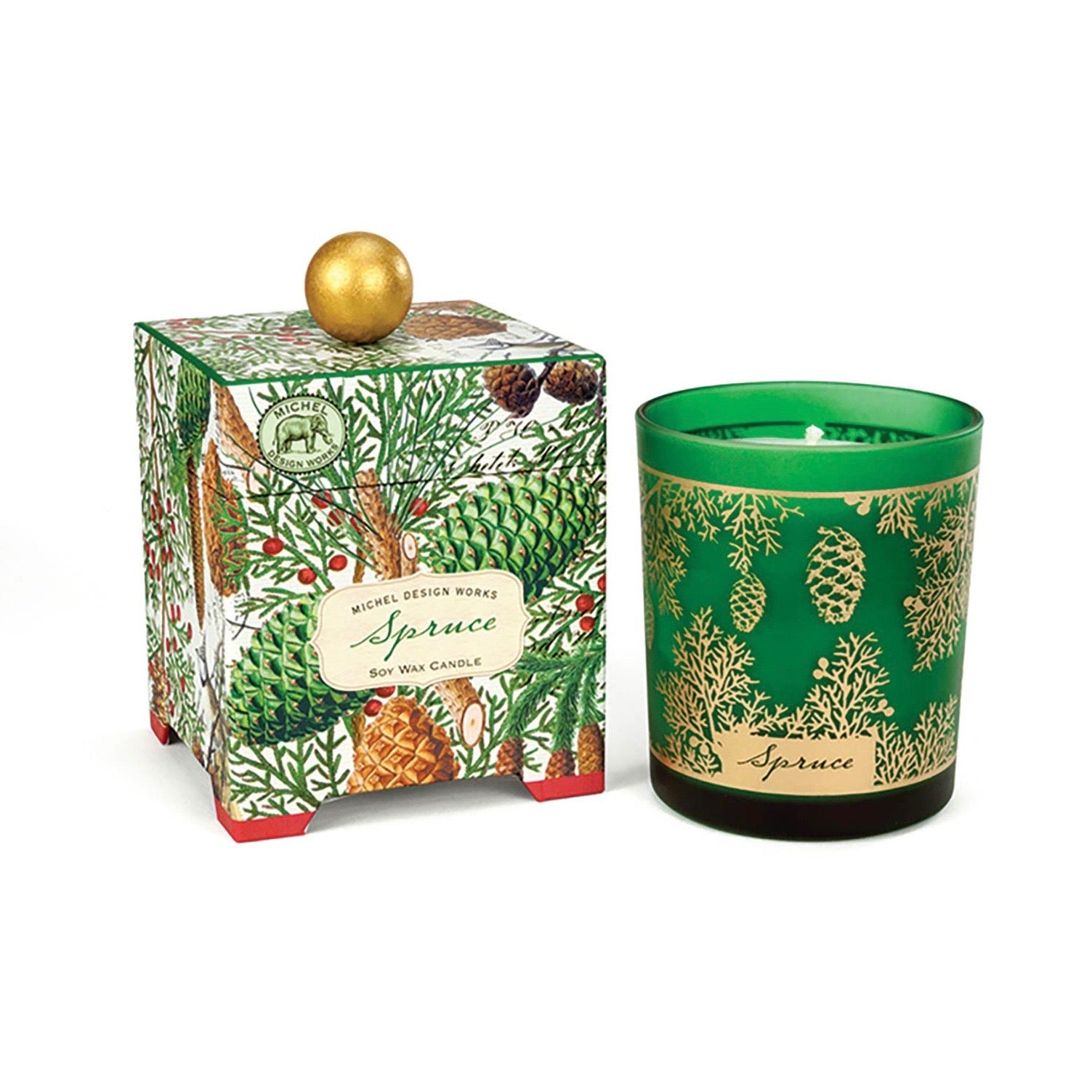 Michel Design Works Spruce Soy Wax Candle - 14oz