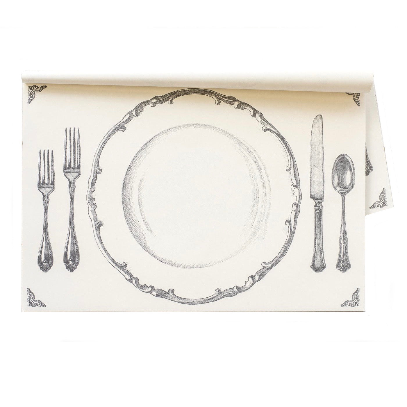 "Hester & Cook ""Perfect Setting"" Paper Placemats - Putti Partyware"