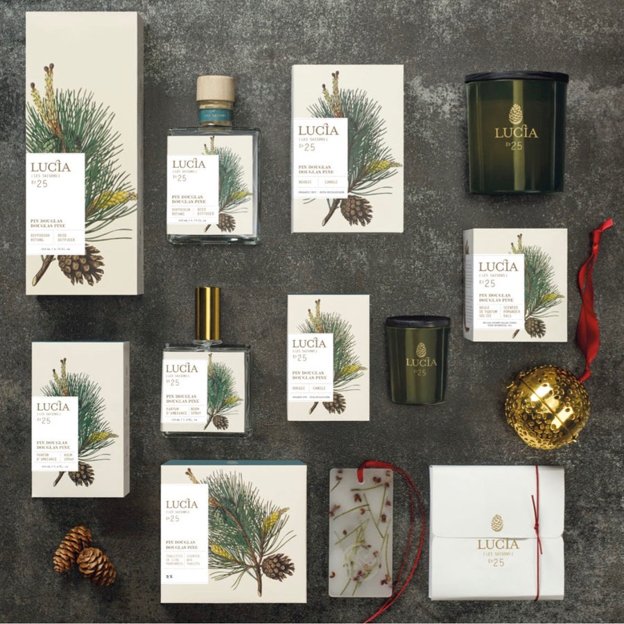 Lucia Les Saison Pine Scented Reed Diffuser