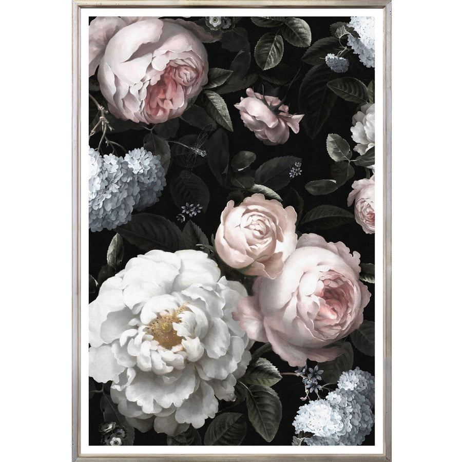 Natural Baroque II Framed Print