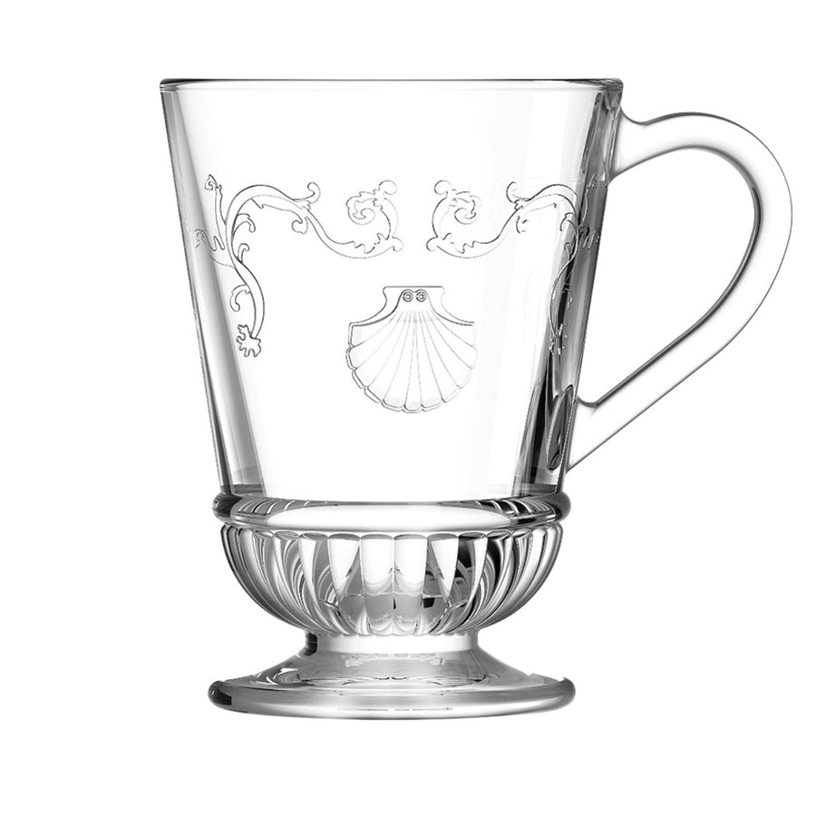 La Rocher Versailles Footed Glass Mug 9.7oz