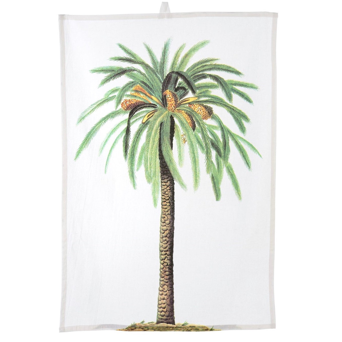 Tropical Tea Towel - Palm Tree - Putti Fine Furnishings Canada