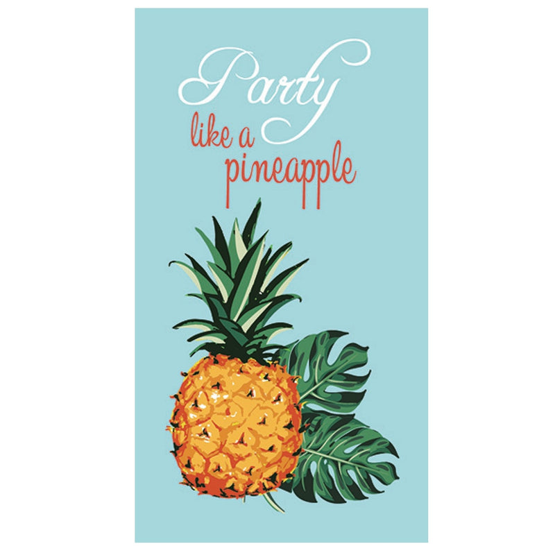 """Party Like a Pineapple"" Paper Napkin - Guest"