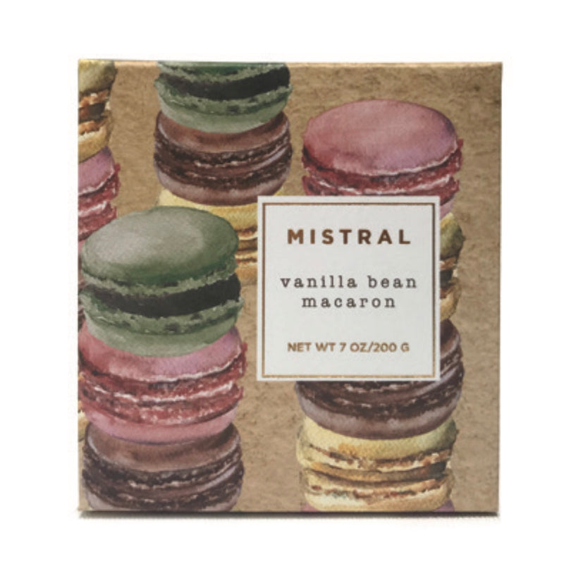 Mistral Limited Edition Holiday Soap - Vanilla Bean Macaron