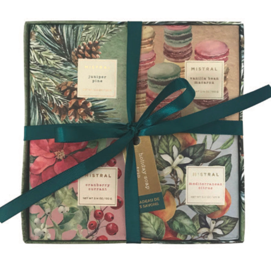 Mistral Limited Edition Holiday Soap Gift Box Set