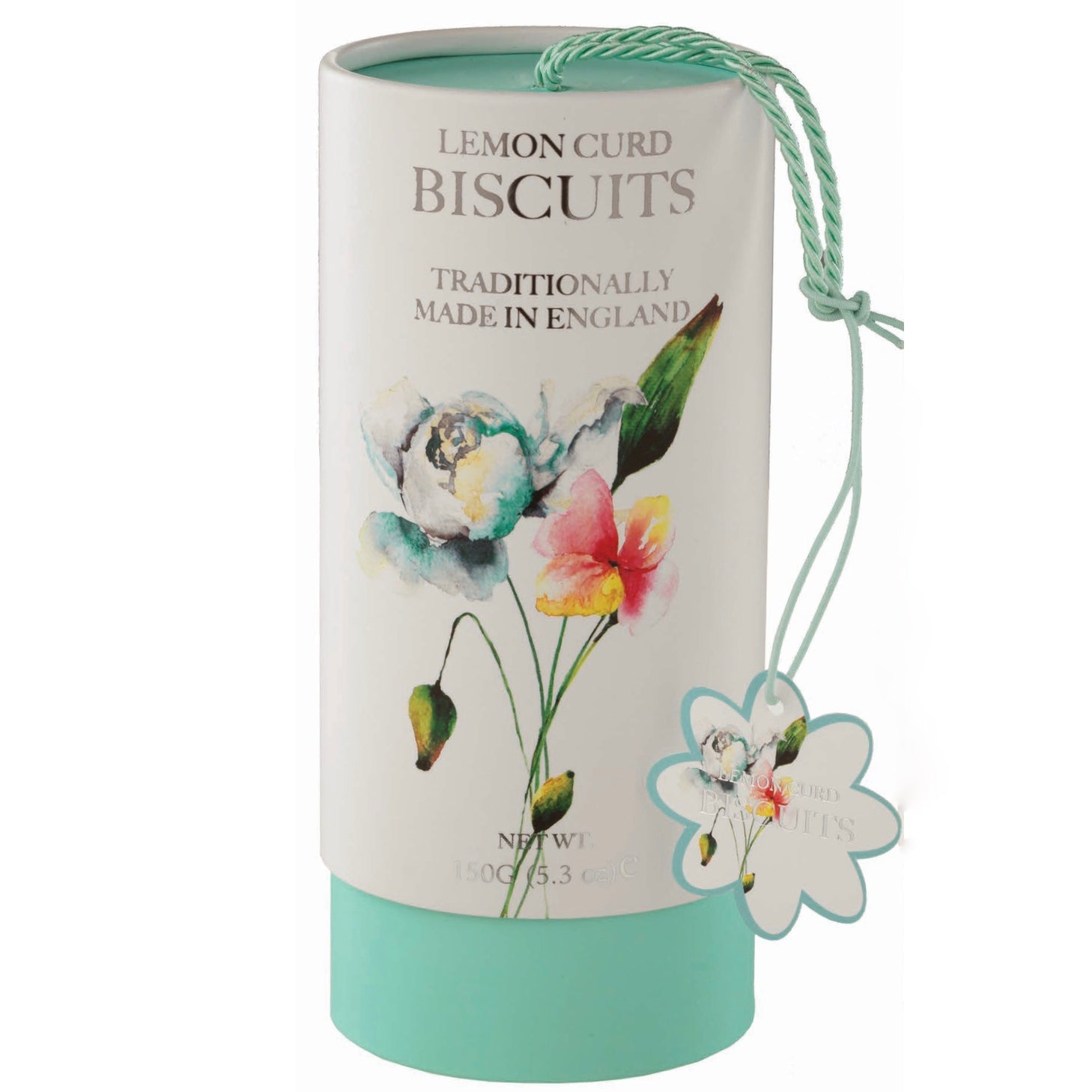 Farmhouse Floral Biscuit Canister - Lemoncurd