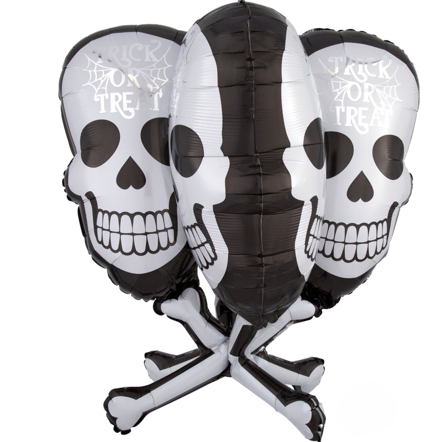 Skull and Cross Bones Halloween Balloon