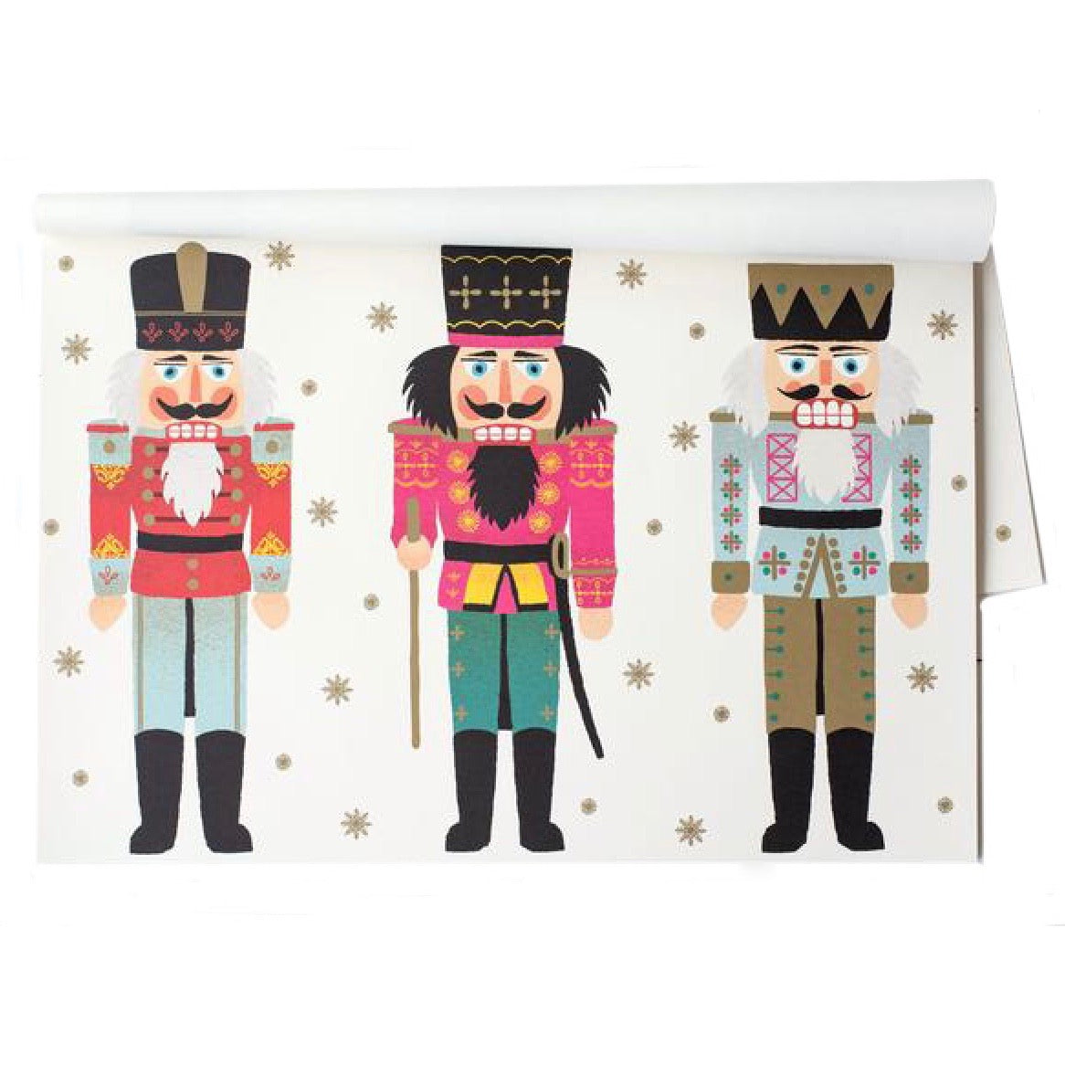 Hester & Cook Nutcrackers Paper Placemats | Putti Celebrations & Partyware