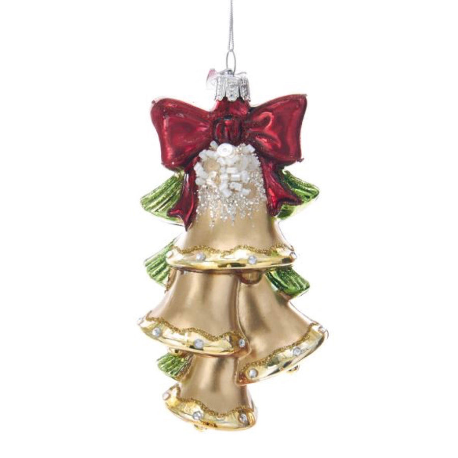 Kurt Adler Glass Bells Glass Ornament