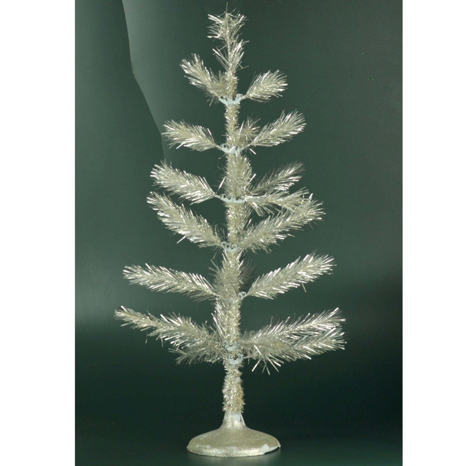 Silver Reflective Table Top Tree
